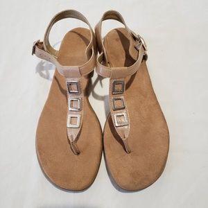 Aerosoles tan sandals Sz 9
